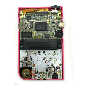 Image 4 - Arka ışık LCD GBP için arkadan aydınlatmalı LCD ekran yüksek ışık kitleri için GameBoy cep konsolu LCD ekran ışık