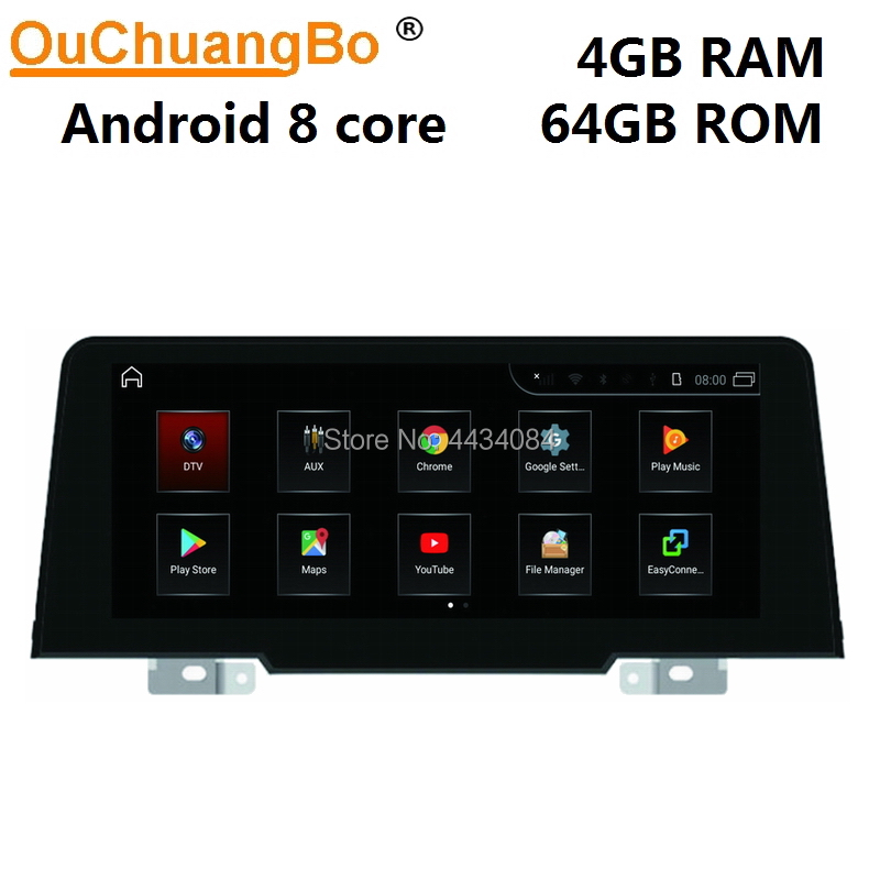 Ouchuangbo car audio stereo GPS radio for <font><b>BMW</b></font> (2018-) 1er <font><b>F20</b></font> F21 2er F22 F23 F87 M2 EVO with 4GB 64GB octa core <font><b>android</b></font> 9.0 OS image