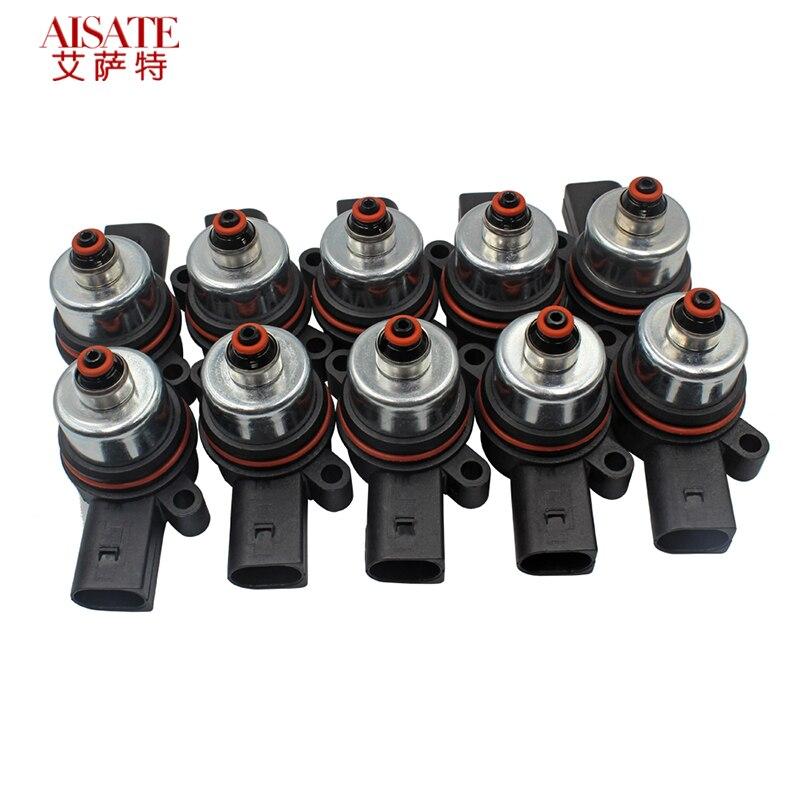 10 sztuk/zestaw pompa kompresora zawieszenia pneumatycznego elektromagnetyczny zawór odpowietrzający do BMW F01 F02 F04 F07 F11N Touring elektroniczny zawór 37206796445