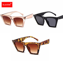 Hot Sale New Vintage Retro Women Cat Eye Sunglasses Fashion Oversized Glasses for women fashion sunglasses Gafas UV400 De Sol