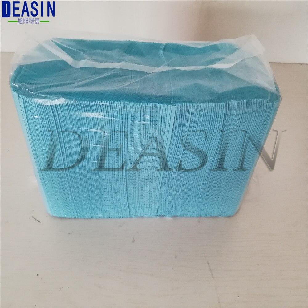 125pc/bag Dentist Disposable Water-resistant Scarf Neckerchief Oral Hygiene Medical Paper Scarf Tattoo Bib