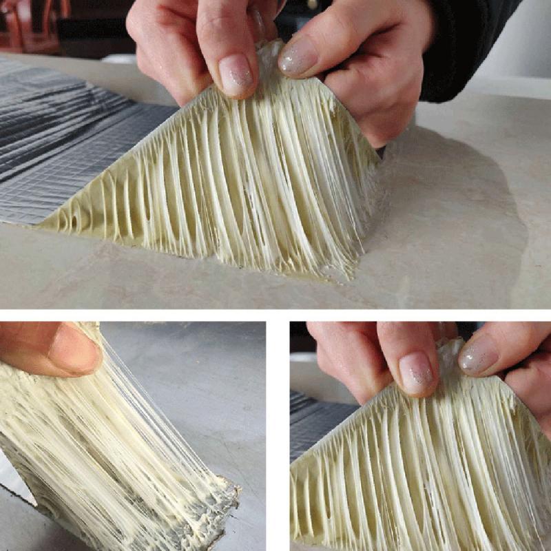 5M Aluminum Foil Butyl Crack Repair Waterproof Insulating Tape Self-adhesive High Temperature Resistant Home Decoration Tool