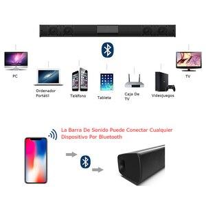 Image 3 - 20W Kolom Draadloze Bluetooth Speaker Tv Soundbar Muziek Stereo Home Theater Portable Sound Bar Ondersteuning 3.5Mm Tf Voor tv Pc