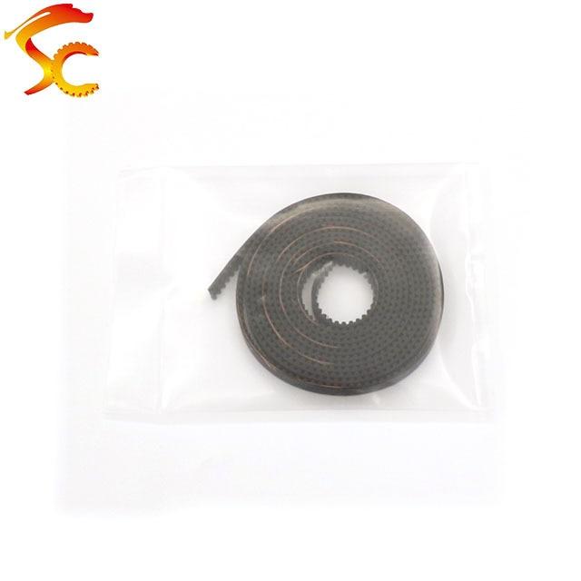 3D Drucker Teile 1/2/3M GT2 Synchron Zahnriemen Breite 6mm 2GT-6mm für 3D Drucker RepRap Mendel 2GT Gürtel Pulley Zubehör