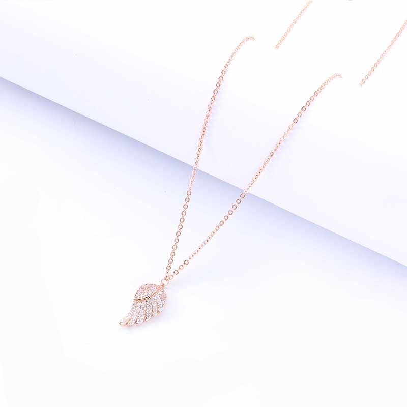Exquisite Snowflake Gold Lady Fashion Pendant Necklace Party Necklace Simple Clavicle Chain Women 39 s Christmas Gift Jewelry in Pendant Necklaces from Jewelry amp Accessories