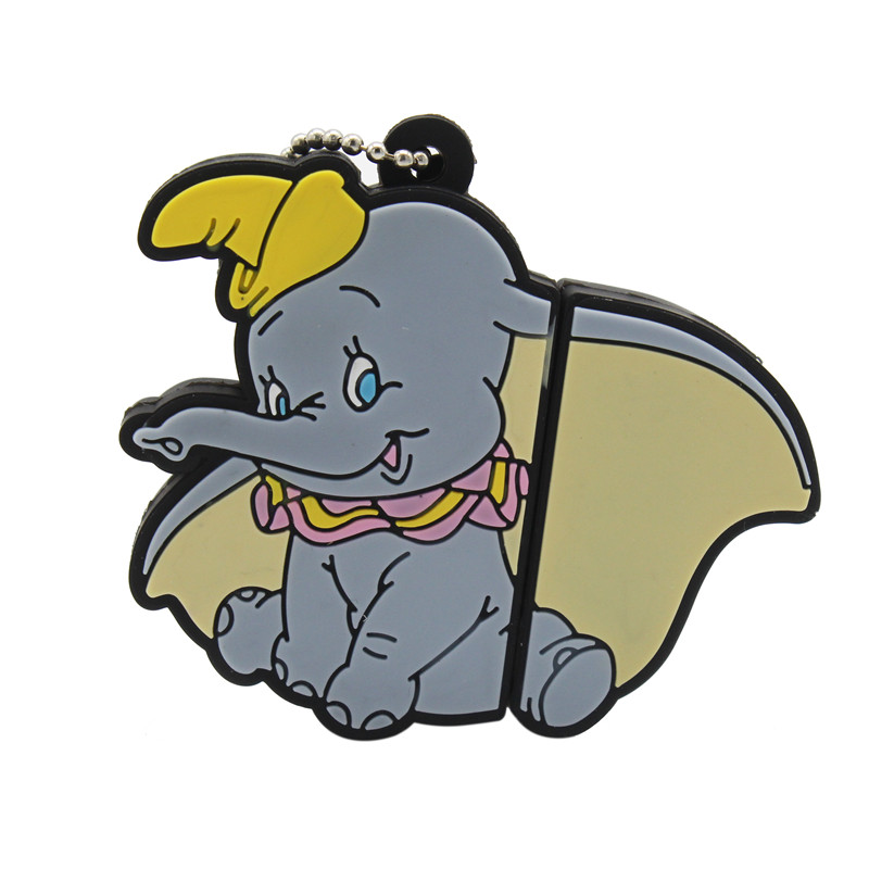 TEXT ME Lovely Mini Elephant  USB Flash Drive Cute Animal Pen Drive Cartoon Pendrives U Disk