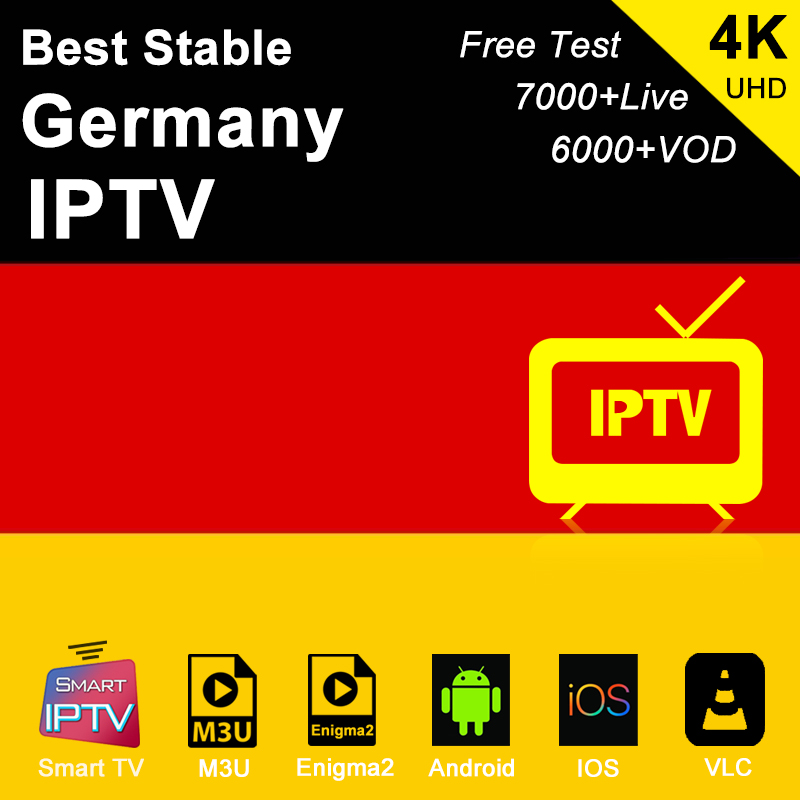 Germany Iptv Subscription M3u Abonnement Iptv USA Canada Spain France America Italy Portugal Android Smart Ip Tv Box Enigma2 PC