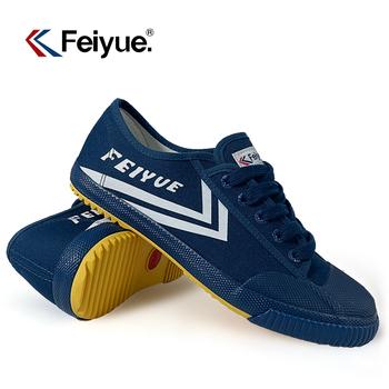 DafuFeiyue buty oryginalne trampki sztuki walki buty Taichi Wushu KungFu mężczyźni kobiety buty 5027 tanie i dobre opinie Unisex CN (pochodzenie) RUBBER Sznurowane Dobrze pasuje do rozmiaru wybierz swój normalny rozmiar Spring2019 PŁÓTNO