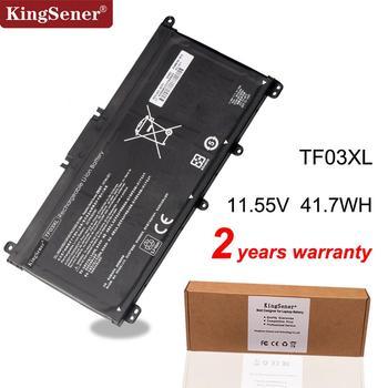 KingSener TF03XL TF03 bateria do hp Pavilion 15-CC 14-bf033TX 14-bf108TX 14-bf008TU HSTNN-UB7J TPN-Q188 TPN-Q189 TPN-Q190 Q191 tanie i dobre opinie Li-ion 3 Komórki 11 55V Black Made in China high quality Brand New 2 Year 41 7WH Stock