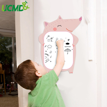 Cartoon Painting Writing Board Children Kids Room Removable Wall Sticker Home school Decor Message Reminder Graffiti Games Toy