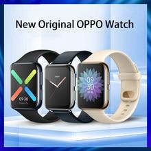 Nowy oficjalny zegarek OPPO 41mm/46mm eSIM telefon komórkowy 1.6 cala AMOLED Snapdragon 2500 i Apollo 3 VOOC 300Mah Smartband 1G 8G GPS
