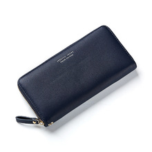 Women Long Clutch Wallet Large Capacity Wallets Female Purse Lady Purses Phone Pocket Card Holder lady clutch large capacity forever young wallet long simple women shoulder crossbody bag handbags card holder birthday bags