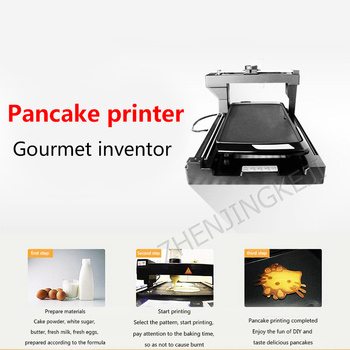 BS-3DY01 Food Printer 3D Pancake Printer Commercial Creative 3D Food Printing Pancake Machine Food Processing Machine art coffee drinks printer food printer chocolate printer with food ink free factory supply with ce