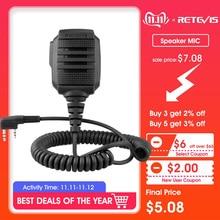 RETEVIS RS-114 IP54 Waterproof Speaker Microphone For Kenwood RETEVIS H777 RT5R RT22 RT81 BAOFENG UV-5R UV-82 888S Walkie Talkie