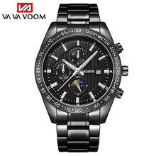 Va voom мужские часы люксовый бренд наручные s кварцевые спортивные