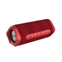 Portable Fabric Waterproof Bluetooth Speaker Subwoofer Outdoor Sound Small Steel Double Diaphragm Small Sound