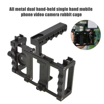 Aluminium Alloy Handheld Rabbit Cage Stabilizer Mount Camera Accessories Support Dropshipping