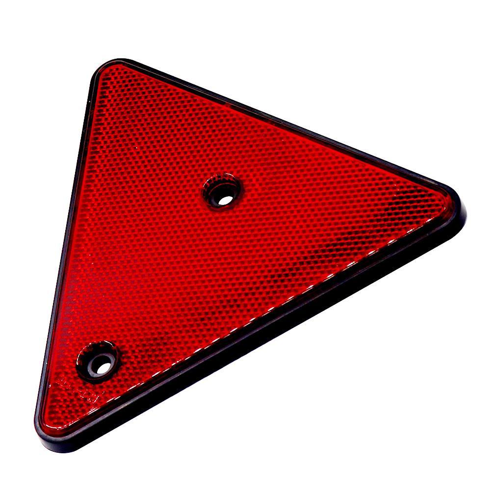 1 шт. треугольная красная отражающая винтовая задняя Водонепроницаемая треугольная Предупредительная плата для прицепов фургонов Защита о...