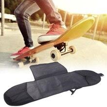 Portable Black Skateboard Backpack Adult Skateboard Deck Backpack Skateboard Set Longboard Carrying Backpack Shoulder недорого
