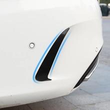 Rear fog light strip For Mercedes C w205 amg coupe mercedes carbon fiber/c class accessories extertior