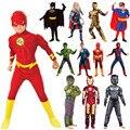 Детский костюм супергероя спидермы, 24 цвета, для мальчиков и девочек, карнавальный детский костюм для косплея на Хэллоуин
