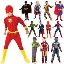 Traje de fantasia de super herói crianças 24 cores, dia das bruxas, carnaval, cosplay, fantasia