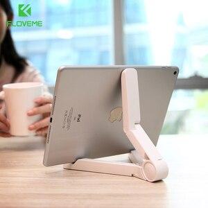 FLOVEME складной держатель для планшета, подставка для iPad iPhone 11 Pro 7 8 XR X, Гибкая Настольная треугольная подставка для мобильного телефона