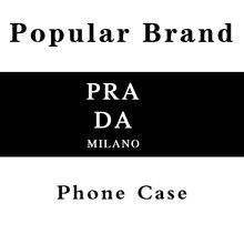 HPCHCJHM luxury brand PRA Black TPU Soft Phone Case Cover fo