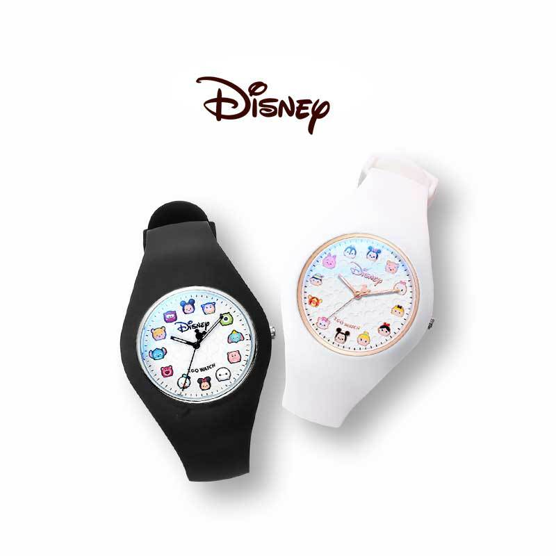 Денис сосна часы женский ins ветер детский студент японский и корейский водонепроницаемый милый девочка мультфильм силикон кварц часы