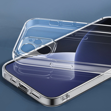 Phone-Cases Back-Cover Lens-Protection Clear Silicone Soft for 12 Anti-Fall Max-Xr 11
