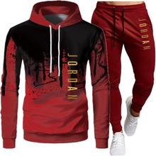 2020 yeni 2 parçalı spor erkek Hoodie kazak + pantolon svetşört spor giyim seti rahat erkek giyim boyutu s-4xl