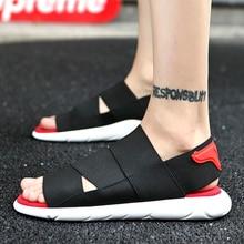AODLEE Size46 Summer Men Sandals Gladiator Beach Casual