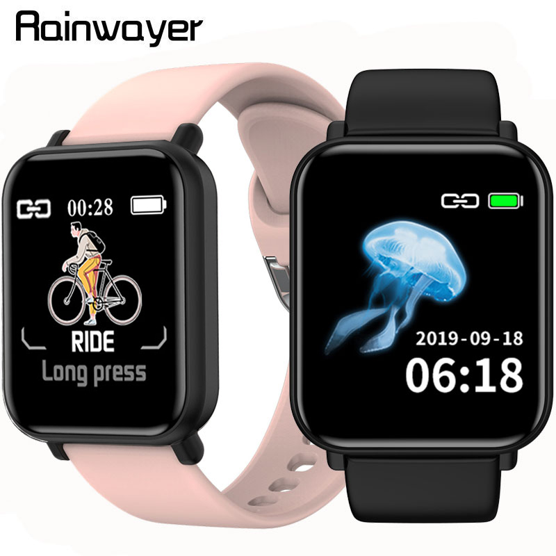 B57 Pro R16 Smart Watch 1.3Inch IPS Color Screen Smartwatch Waterproof Heart Rate Blood Pressure Monitoring For IOS Android