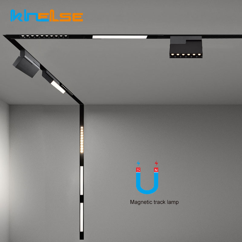 0-5M-1M-Ceiling-Recessed-Magnetic-Lamp-LED-Track-Lighting-Connectors-Rail-Strip-Holder-Aluminum-Suspended