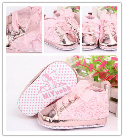 New Autumn Winter Baby Kid Girl Toddler Non-slip Soft Sole Sneaker Shoes Prewalker Shoes Floral Fashion Baby Shoes