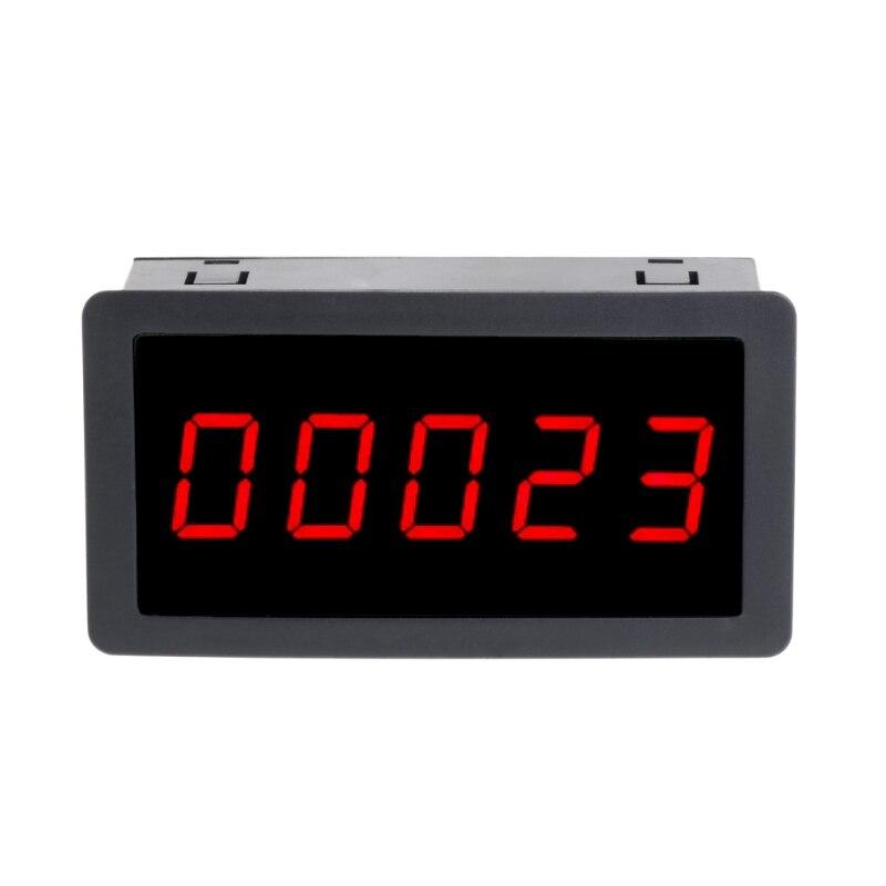 4-Digit 0-9999 Red LED Digital Counter Panel Meter 5-28V Up /& Down Totalizer
