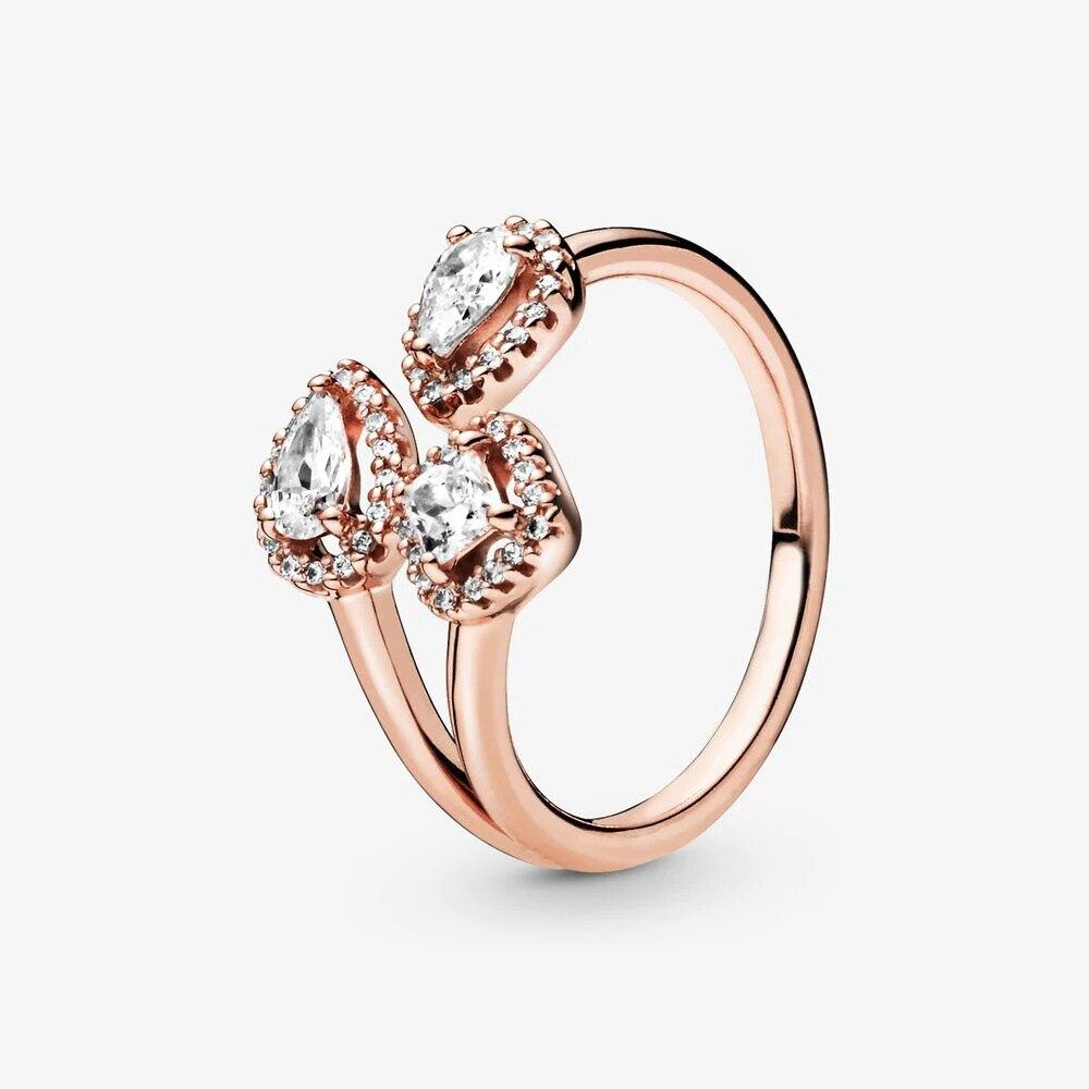 Bague en argent Sterling 2020 pour femmes, couronne de fleur de marguerite scintillante, bijou de fiançailles, printemps, 925 6