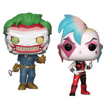 HOT anime batman super heroes action figures 10cm DC Punk Harley Joker Quinn model toys doll collection FOR GIFTS(China)