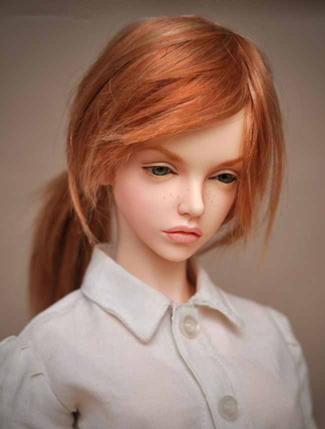 BJD SD 1/4 Fid Bianca Dolls, Birthday Gift High Quality Articulated Dolls Toys Gift Dolly Model Nude Collection