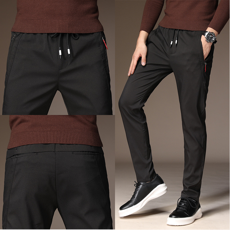 MRMT 2020 Brand Autumn And Winter Men's Trousers Stretch Casual Pants For Male Fashion Youth Trousers Sweatpants Trouser