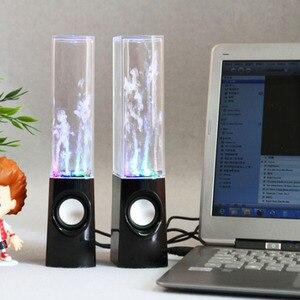Image 4 - אלחוטי רוקד מים רמקול LED אור מזרקת רמקול בית המפלגה SP99