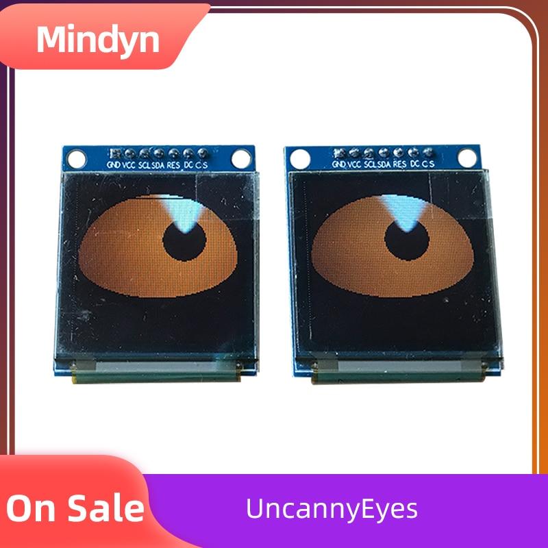 Doe's Eyes Electronic Blink Module Bar Halloween Children's Toys Fun Decoration Wearable Dress Up