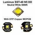 Luminus SST-40 N5 DD blanc neutre 5000K émetteur de LED avec KDLITKER 16mm/20mm DTP cuivre MCPCB