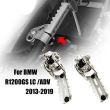 R1200GS Highway Front Foot Pegs Pedals Footrest fits For BMW R1200GS LC ADV Adventure Pipes Triumph Tiger Explorer Motorcycle