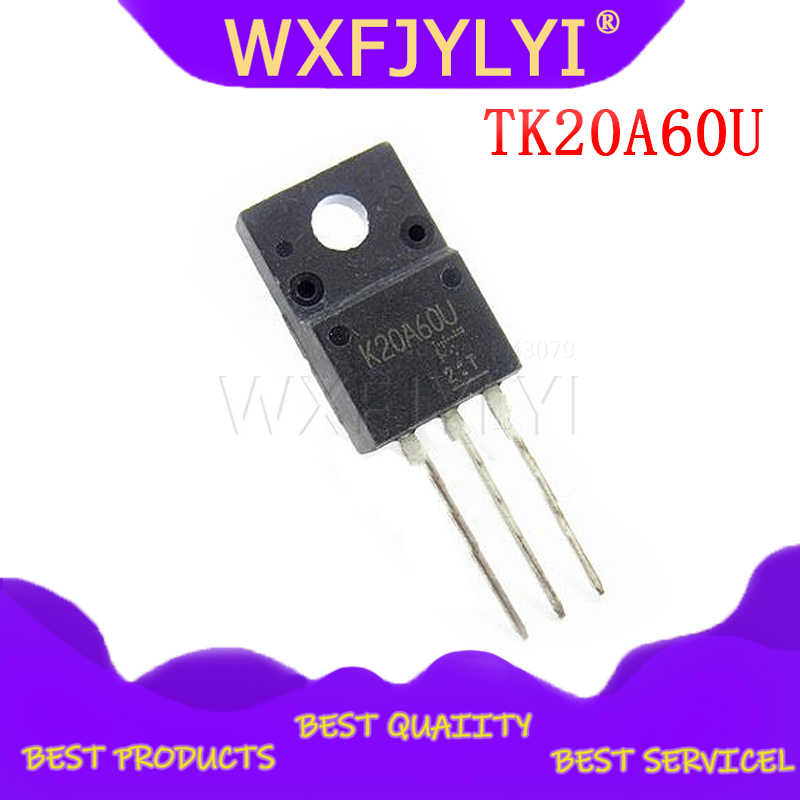 5 pcs/lot TK20A60U K20A60U TO-220F