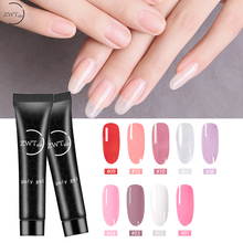 ZWTale 15g Poly Gel Finger Extension Jelly Acrylic gel Nail Camouflage UV LED Hard Builder