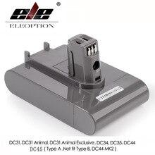 (Tip A) 22.2V 3000mAh Li-ion süpürge pil için DC35, DC45 DC31, DC34, DC44, DC31 hayvan, DC35 hayvan, 917083-01