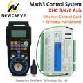 Mach3 контроллер комплект XHC 2 МГц Ethernet коммутационная плата 3 4 6 оси управление движением карты с MPG беспроводной Кулон Маховик WHB04B