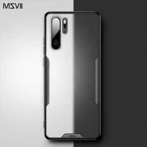 Image 1 - Msvii caso de luxo para huawei p20 pro caso transparente para huawei p30 pro silicone caso para huawei p20 capa traseira para huawei p30