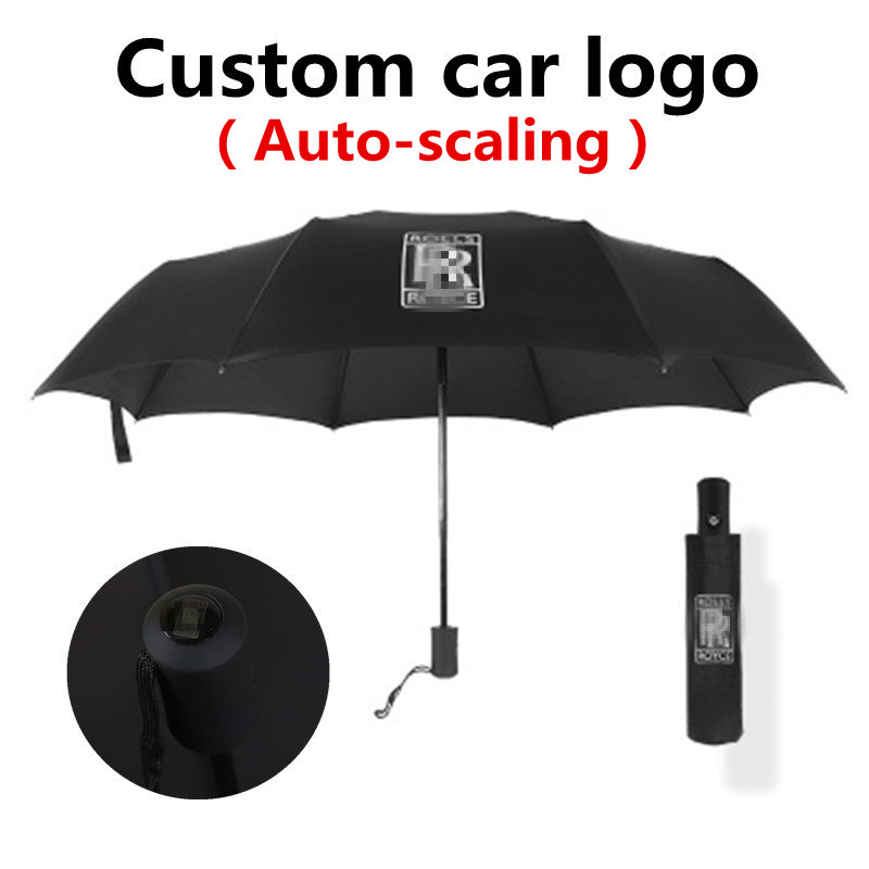 Car Special Umbrella With Logo For Men And Women For Rolls Royce Mercedes Benz BMW Audi Land Rover Ford Toyota Volkswagen Lexus